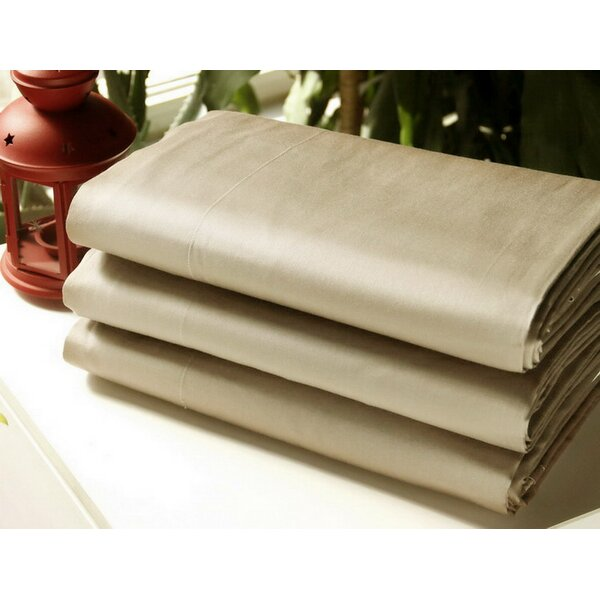 Encline 300 Thread Count 100% Cotton Flat Sheet by Red Barrel Studio